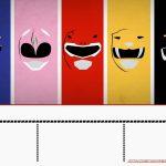 Free Power Rangers Birthday Invitation Templates | Free Printable   Free Power Ranger Printables