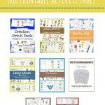 Free Preschool Bible Packs – Mary Martha Mama  Free Printable Bible   Bible Lessons For Toddlers Free Printable