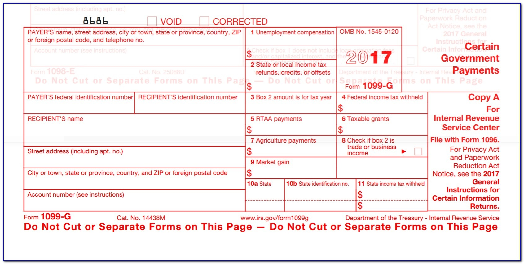 Free Printable 1099 Forms From Irs - Form : Resume Examples #pvmvq3Xpaj - Free Printable Irs Forms