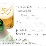 Free Printable 50Th Birthday | Free Printable Birthday Invitation   Free Printable Surprise 40Th Birthday Party Invitations