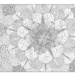 Free Printable Abstract Coloring Pages For Adults   Free Printable Hard Coloring Pages For Adults