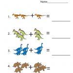 Free Printable Activities Dinosaur | Educative Printable | Kids   Free Printable Dinosaur Activities For Kindergarten