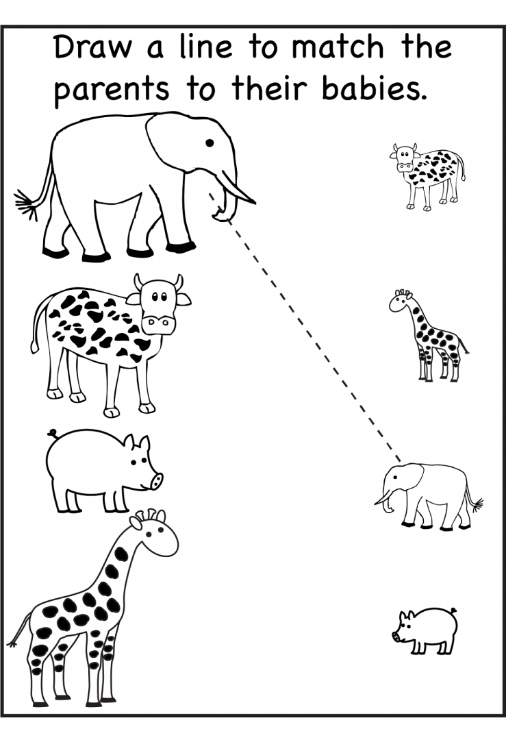 Free Printable Activity Sheets For Kids ~ Learningwork.ca - Free Printable Preschool Worksheets