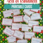 Free Printable Acts Of Kindness Holiday Cards   Money Saving Mom   Make A Holiday Card For Free Printable