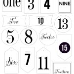 Free Printable Advent Calendar Tags   The 29 Minute Mom   Free Printable Advent Numbers