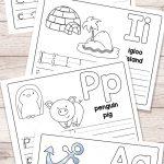 Free Printable Alphabet Book   Alphabet Worksheets For Pre K And K   Free Printable Easy Readers For Kindergarten