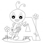 Free Printable Alphabet Coloring Pages For Kids   Best Coloring   Free Alphabet Coloring Printables