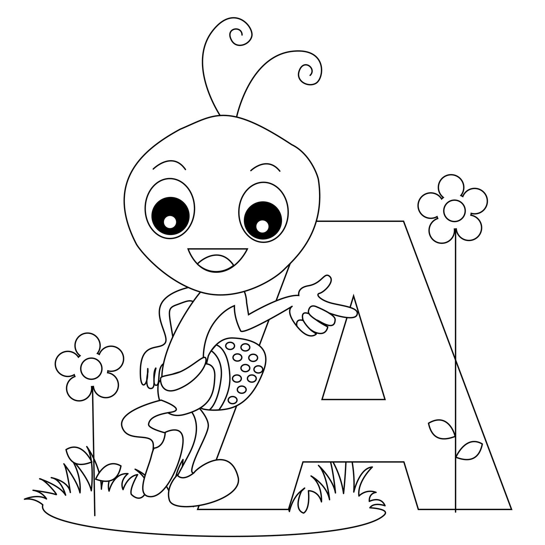 Free Printable Alphabet Coloring Pages For Kids - Best Coloring - Free Alphabet Coloring Printables