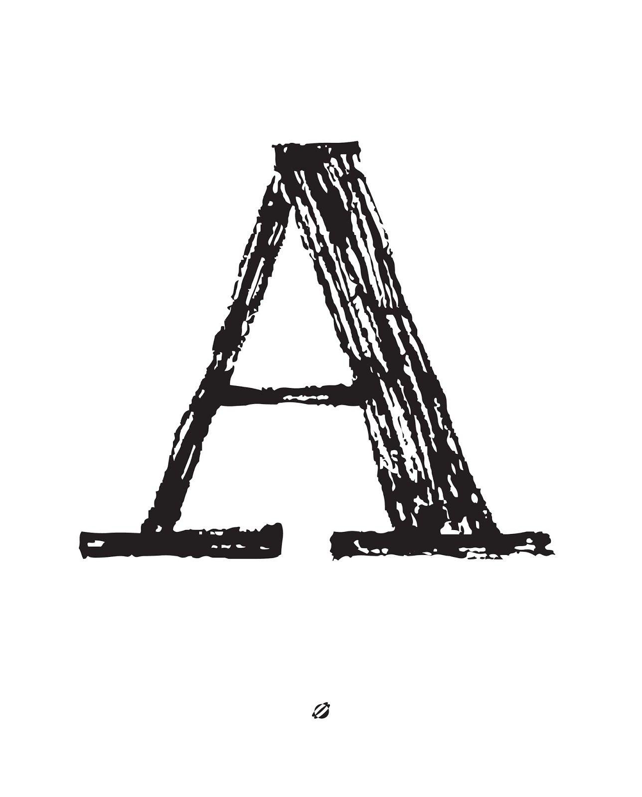 Free Printable Alphabet Letters (A-Z!) // Lostbumblebee | Printables - Free Printable Letters Az