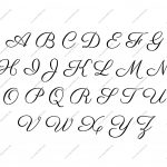 Free Printable Alphabet Stencil Letters Template | Art & Crafts   Large Printable Fonts Free