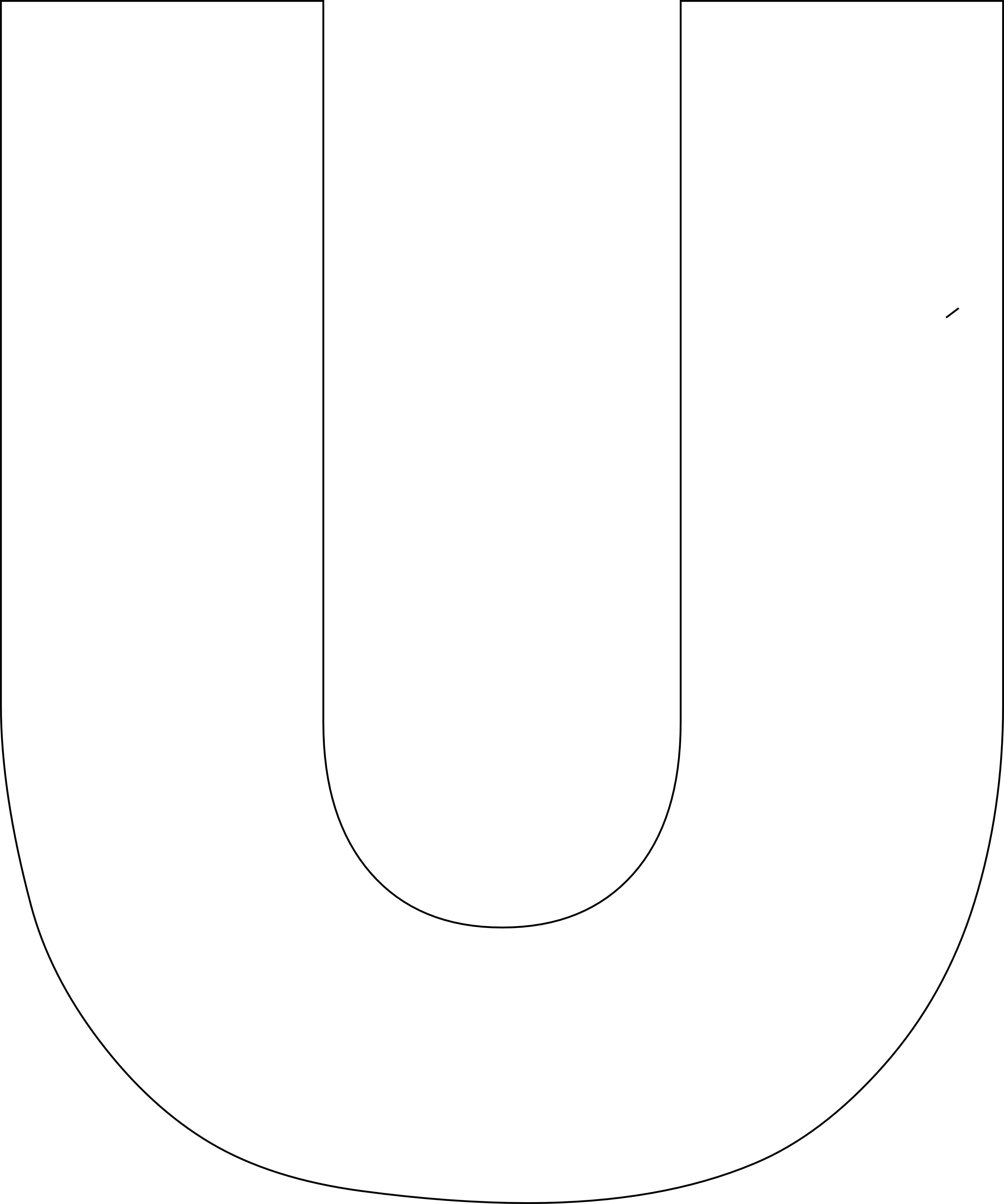 Free Printable Alphabet Template Upper Case - Free Printable Alphabet Templates
