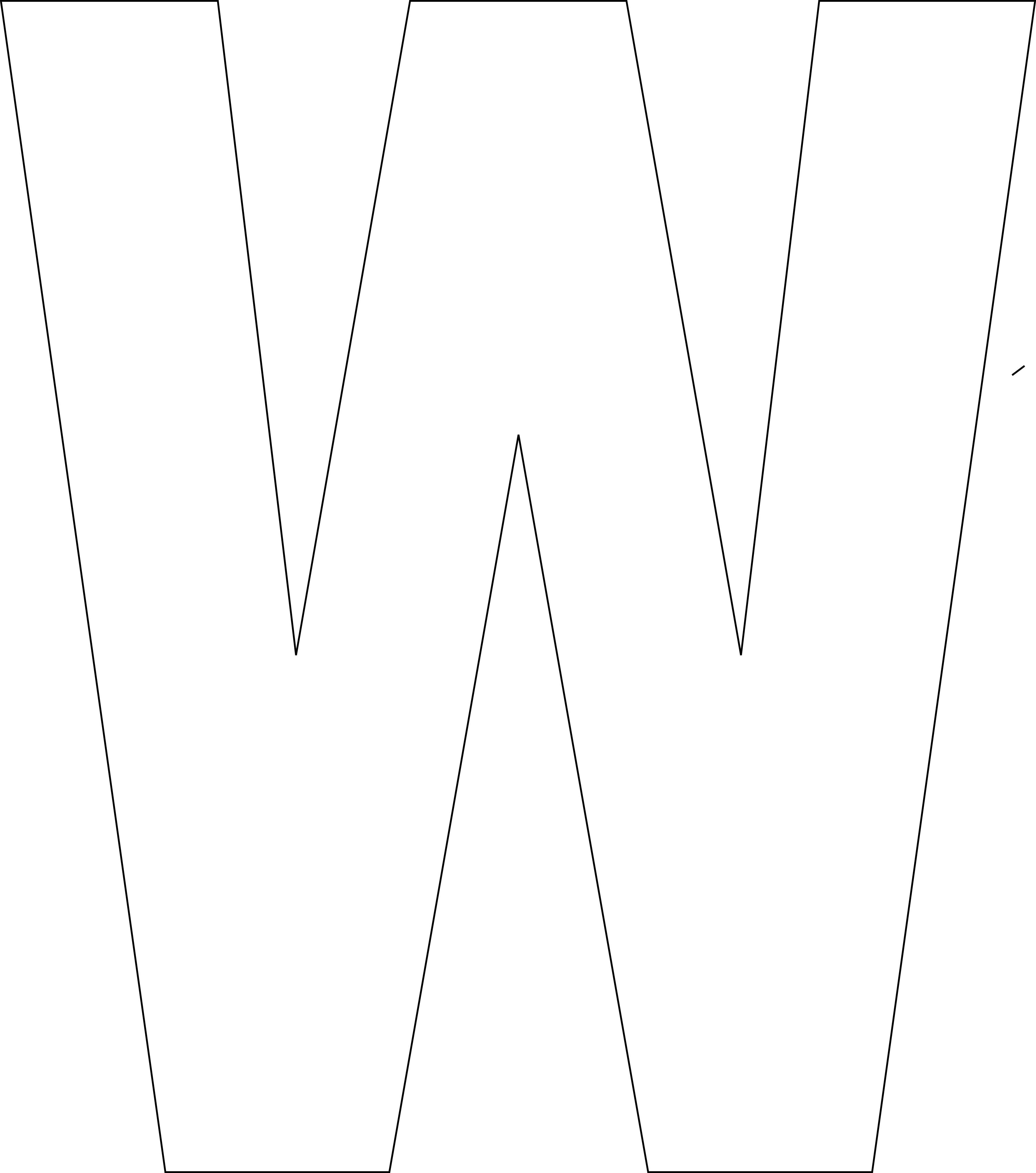 Free Printable Alphabet Template Upper Case - Template Letters Of The Alphabet For Free Printable