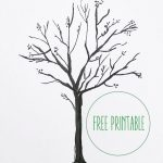 Free Printable! | Art Work | Blank Family Tree, Tree Templates, Free   Free Printable Tree Template