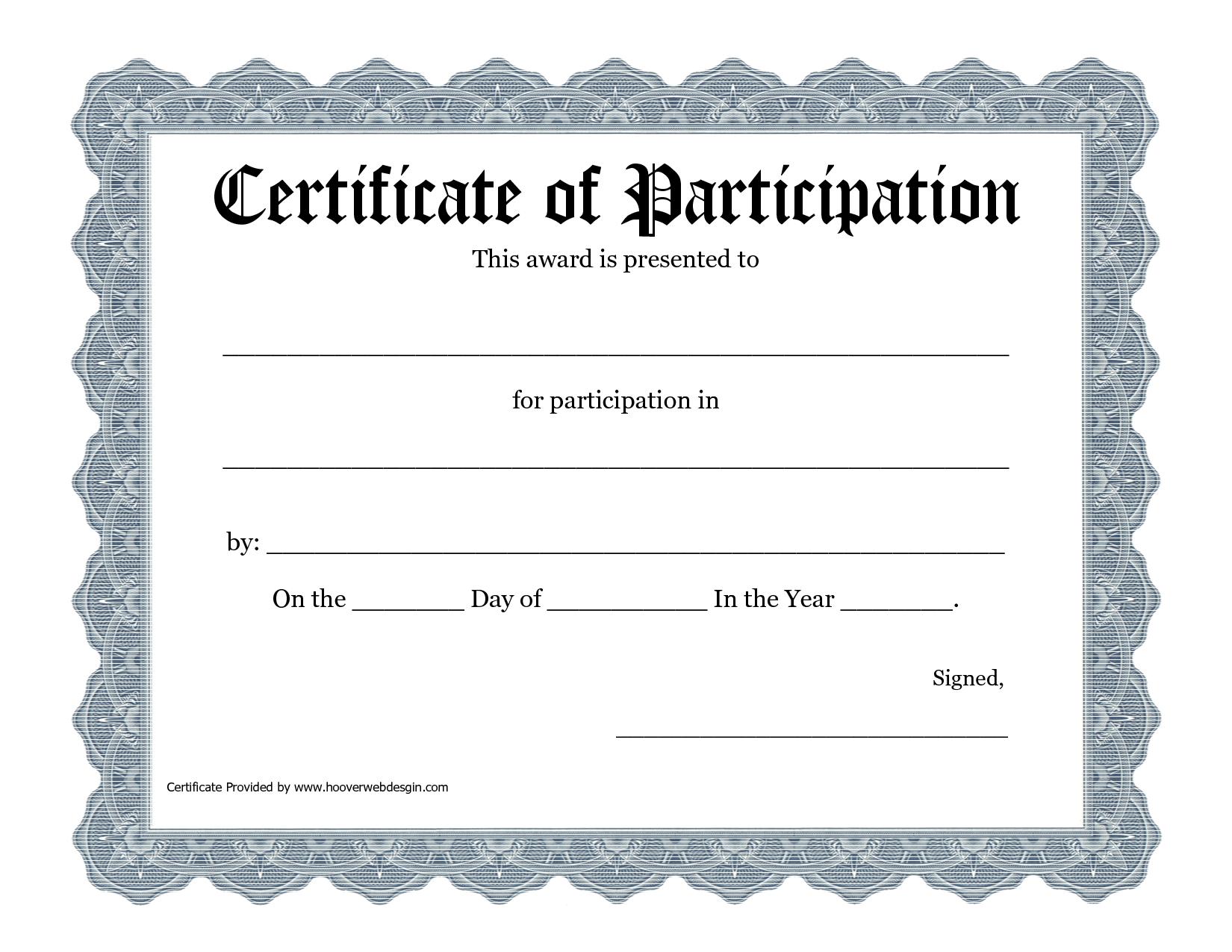 Free Printable Award Certificate Template - Bing Images   2016 Art - Free Printable Certificate Templates
