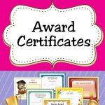 Free Printable Award Certificates For Teachers & Students | Acn   Free Printable School Achievement Certificates