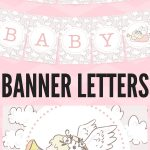 Free Printable Baby Shower Decorations Banner Letters   Babyshowers   Free Printable Baby Shower Banner Letters