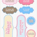 Free Printable Baby Shower Favor Tags Template Brochure Templates   Free Printable Baby Shower Favor Tags