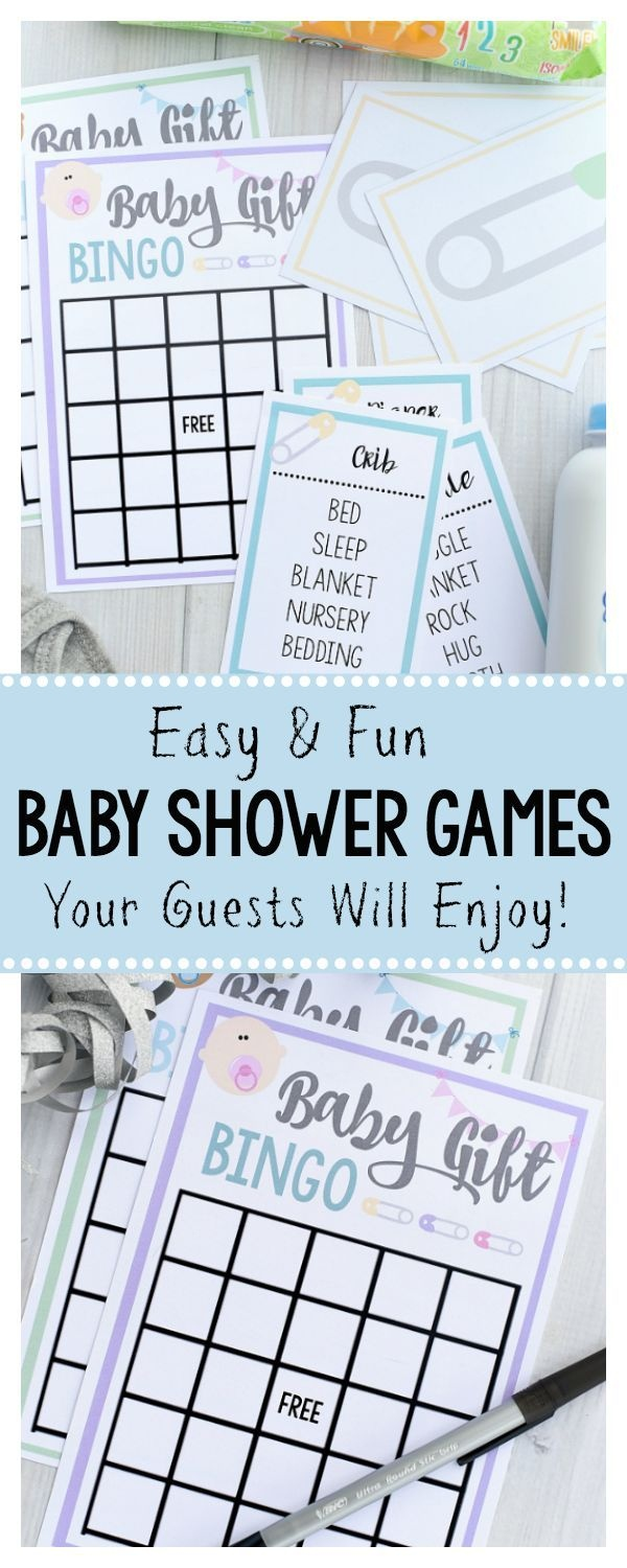 Free Printable Baby Shower Games For Large Groups | Baby Ideas - Free Printable Group Games