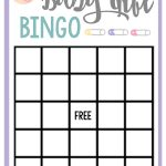 Free Printable Baby Shower Games For Large Groups – Fun Squared   Free Printable Baby Shower Bingo For 50 People