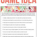 Free Printable Baby Shower Songs Guessing Game   Play Party Plan   Find The Guest Baby Shower Game Free Printable