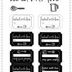 Free Printable Baked With Love Tags   Ausdruckbare Etiketten   Free Printable Baking Labels