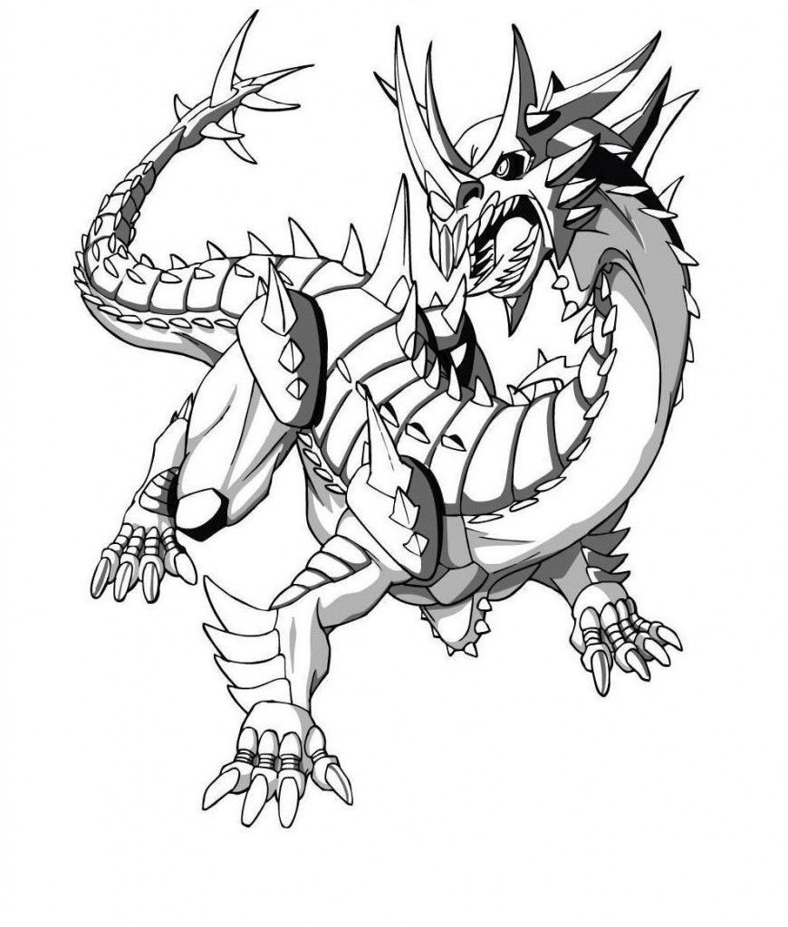Free Printable Bakugan Coloring Pages For Kids   Places To Visit - Printable Bakugan Coloring Pages Free