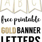 Free Printable Banner Letters Templates | The Wedding Stuff | Free   Free Printable Wedding Banner Letters