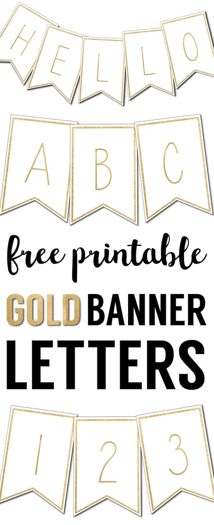 Free Printable Banner Letters Templates | The Wedding Stuff | Free - Free Printable Wedding Banner Letters