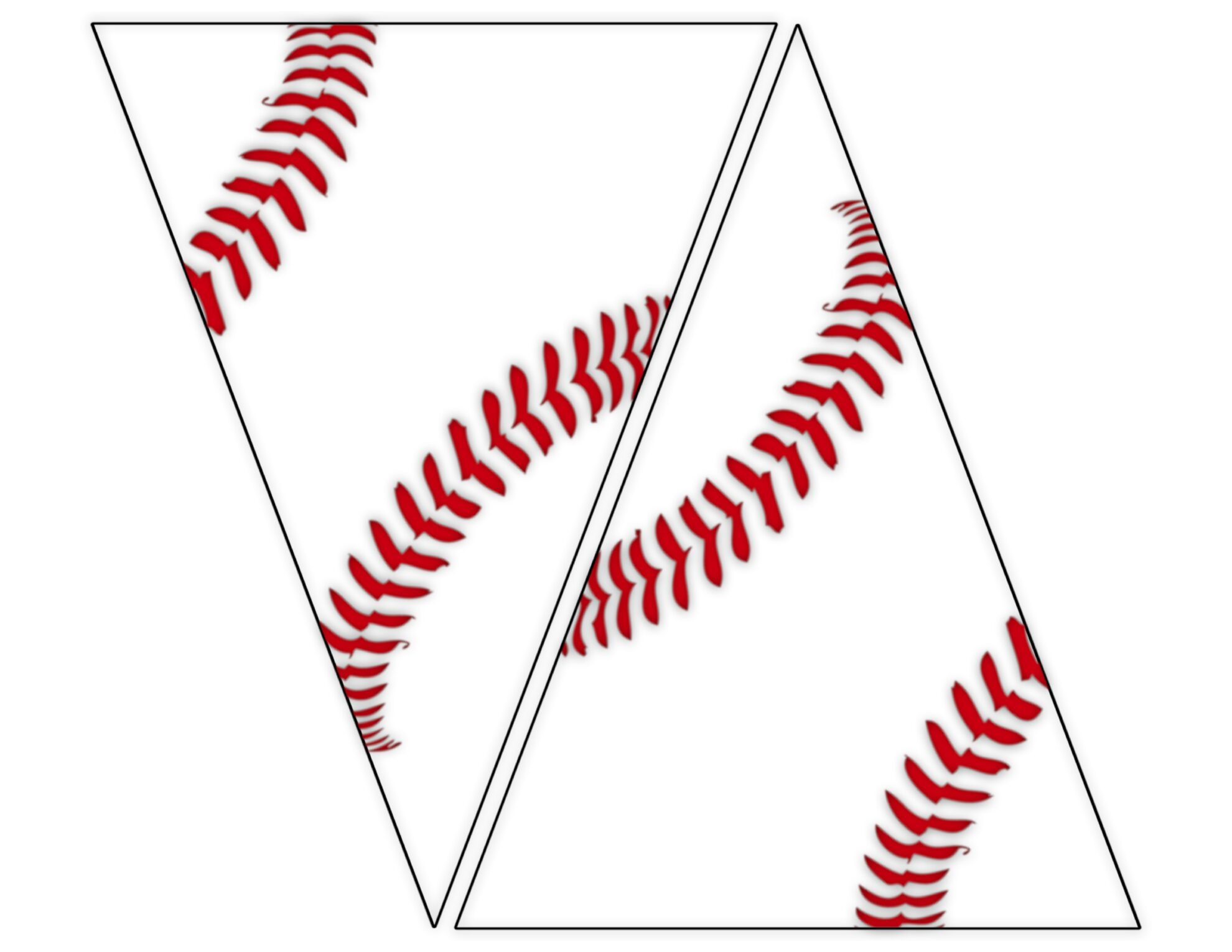 Free Printable Baseball Banner {Baseball Party Decorations} - Paper - Free Baseball Printables
