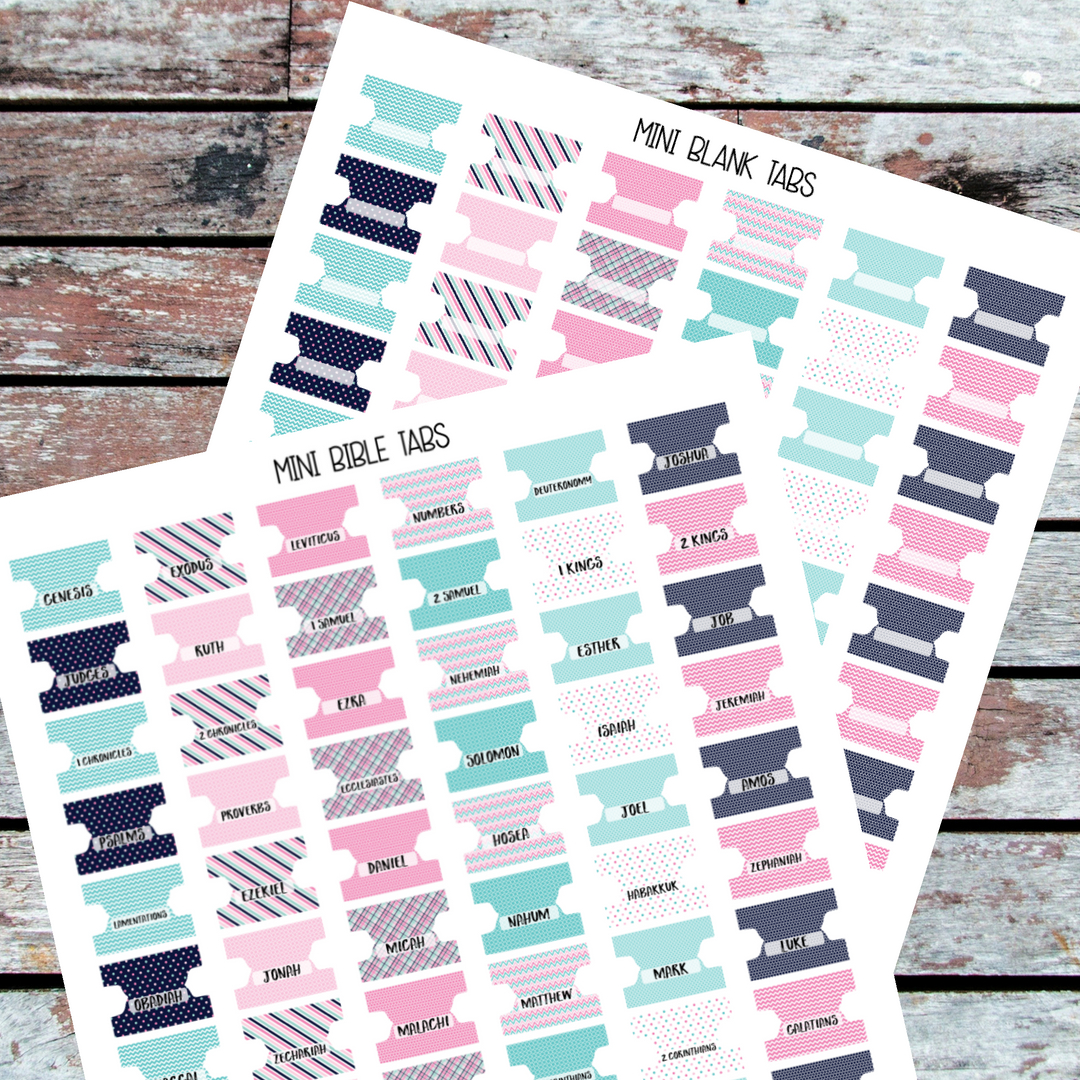 Free Printable Bible Tabs (82+ Images In Collection) Page 1 - Bible Tabs Printable Free