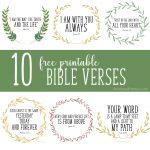 Free Printable Bible Verses   Christinas Adventures   Free Printable Bible Verses