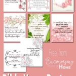 Free Printable Bible Verses To Encourage And Inspire Homeschool Moms   Free Printable Bible Verses