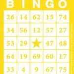Free Printable Bingo Card Template   Bingocardprintout   Free Printable Bingo Cards