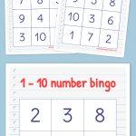 Free Printable Bingo Cards | Math | Kindergarten Math, Preschool   Math Bingo Free Printable