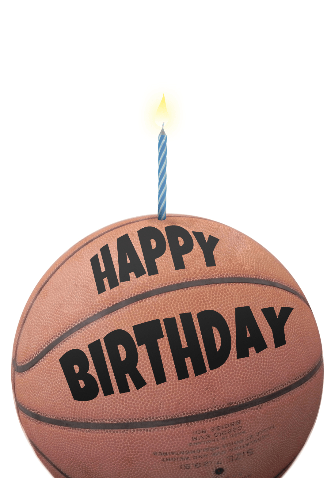Free Printable Birthday Card - Basketball | Greetings Island - Sports Birthday Cards Free Printable