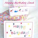 Free Printable Birthday Card   Happy Birthday Free Printable
