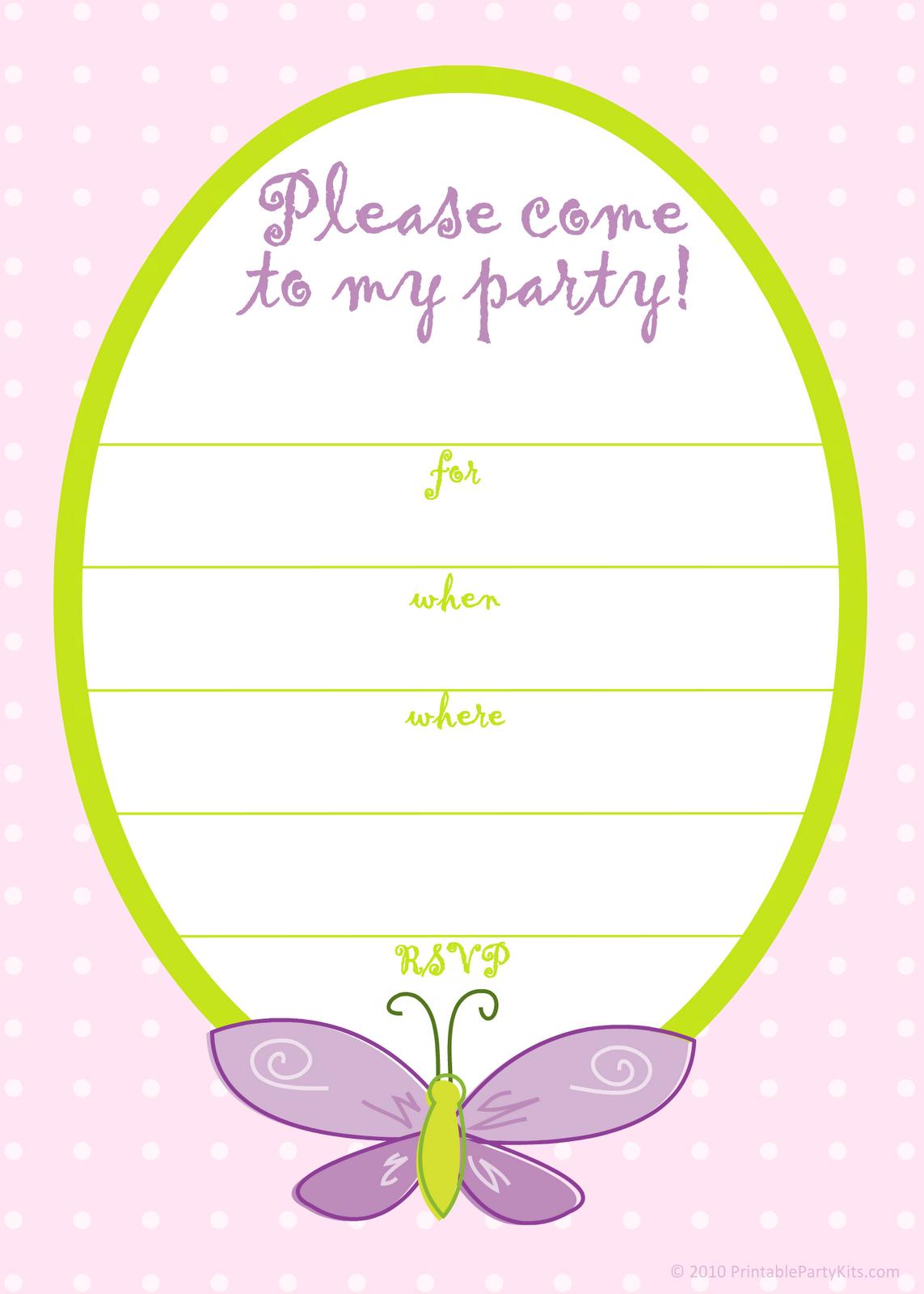 Free Printable Birthday Card Invitation Templates | Invitations In - Free Printable Birthday Invitation Cards