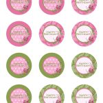 Free Printable Birthday Cupcake Toppers | Crafts | Birthday Cupcakes   Baptism Cupcake Toppers Printable Free