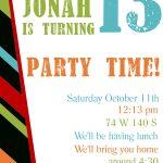 Free Printable Birthday Invitation Templates   Free Printable Birthday Invitation Templates