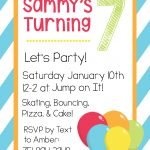 Free Printable Birthday Invitation Templates   Free Printable Girl Birthday Party Invitations