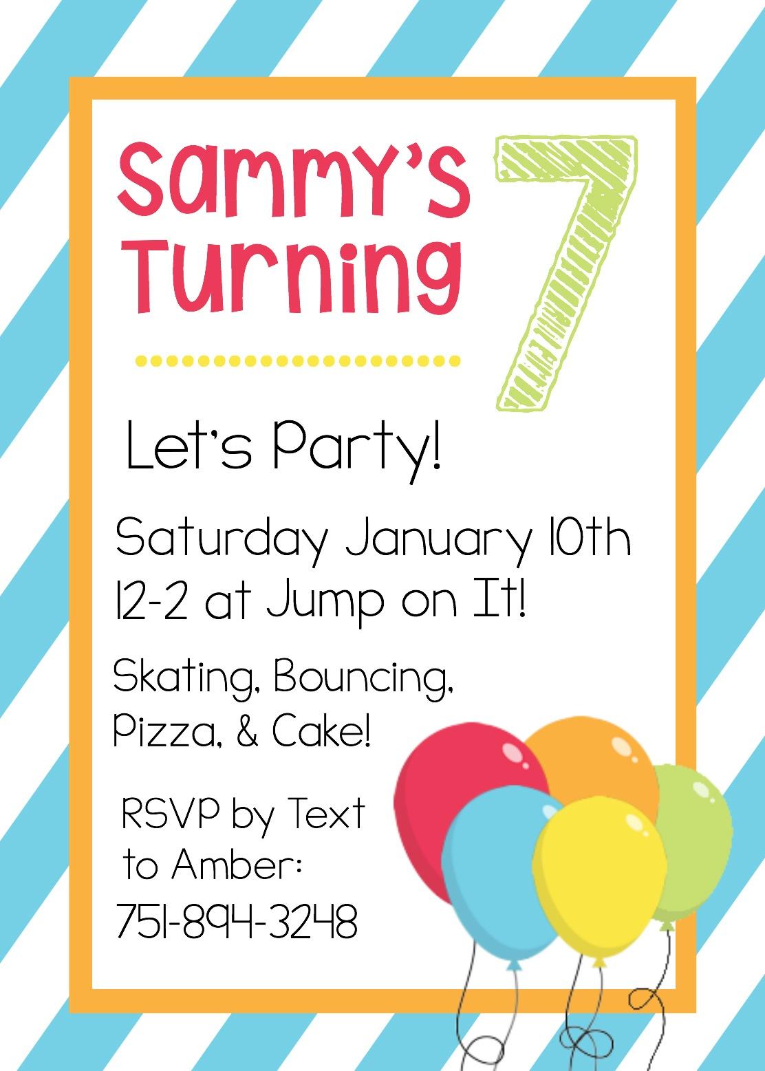 Free Printable Birthday Invitation Templates - Free Printable Girl Birthday Party Invitations