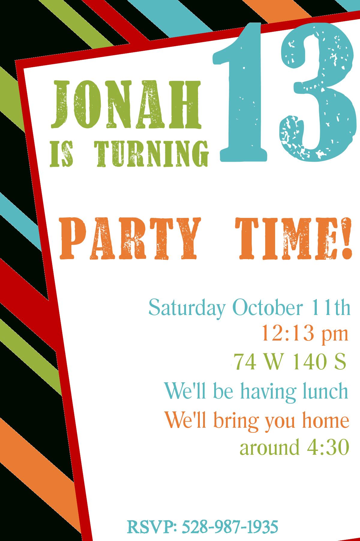 Free Printable Birthday Invitation Templates - Make A Birthday Invitation Online Free Printable