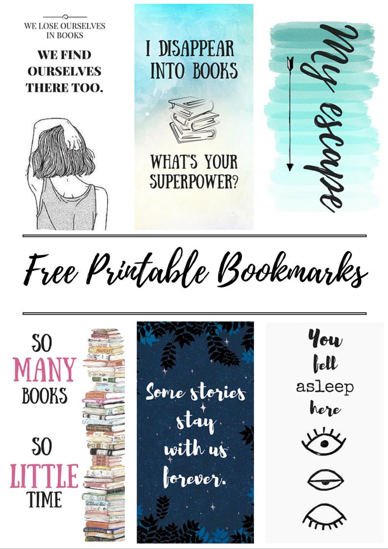 Free Printable Bookmarks   Crafty   Free Printable Bookmarks, Diy - Free Printable Book Marks