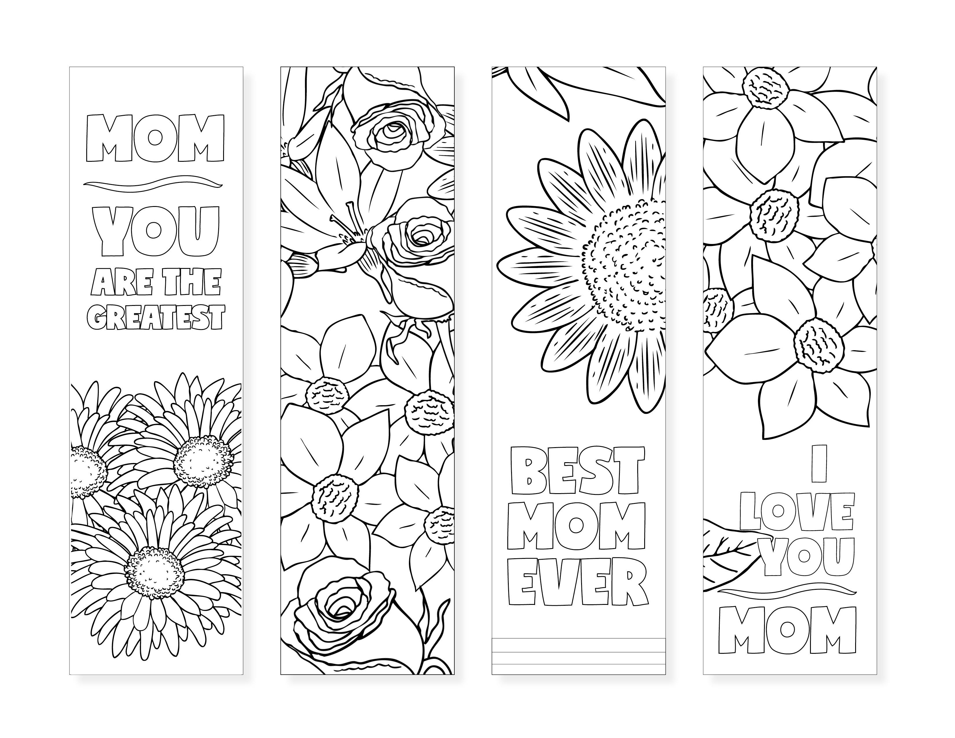 Free Printable Bookmarks For Moms - Design Dazzle - Free Printable Book Marks