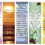 Free Printable Bookmarks With Bible Verses | Bookmarks | Free   Free Printable Bookmarks With Bible Verses
