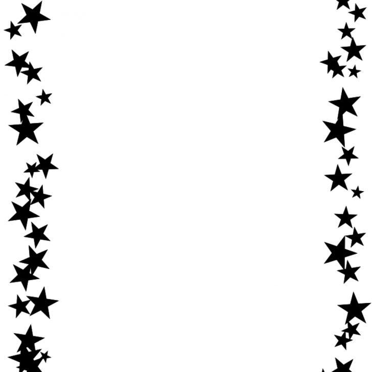 Free Printable Star Border Paper