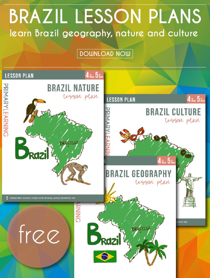 Free Printable Brazil Lesson Plans | Shopping Hacks | Lesson Plans - Brazil Worksheets Free Printables