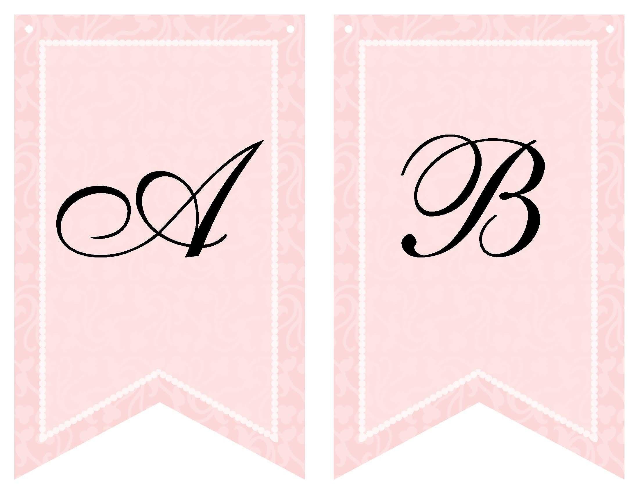 Free Printable Bridal Shower Banner | Vow Renewal | Wedding Shower - Free Bridal Shower Printable Decorations