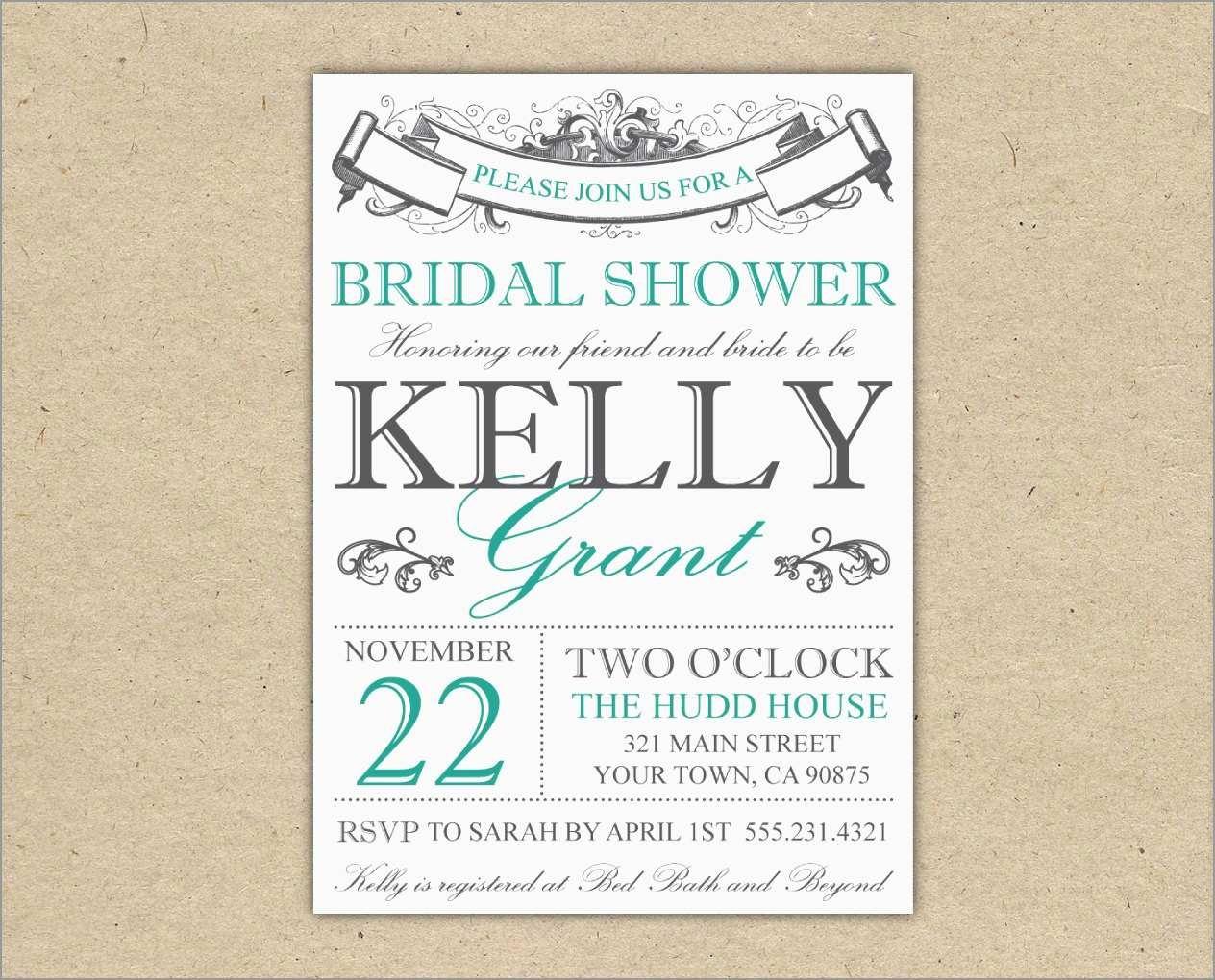 Free Printable Bridal Shower Invitations Templates Pleasant Bridal - Invitations Bridal Shower Free Printable