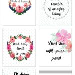 Free Printable Bullet Journal Cards. Personal Planner Cards   Free Printable Images